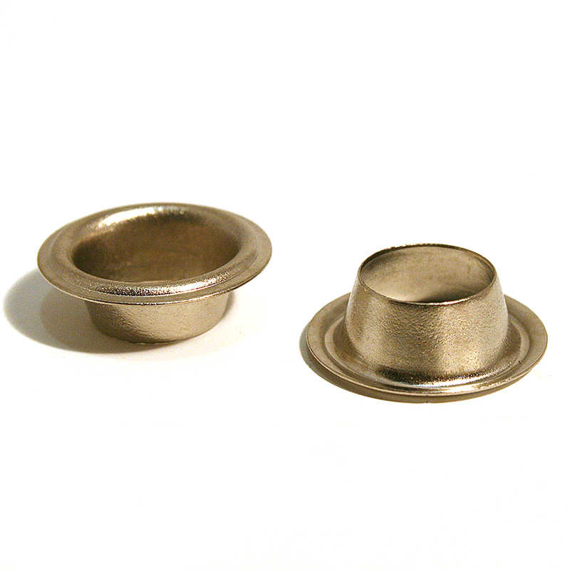 18 SAIL EYELET BRASS NICKEL PLATE
