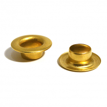 21 SAIL BRASS EYELET CLEAN