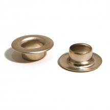 22 SAIL BRASS EYELET NICKEL PLATE