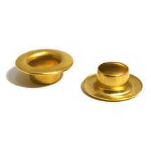 24 SAIL BRASS EYELET CLEAN