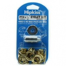 PP28 EYELET & TOOL PACK BRASS CLEAN