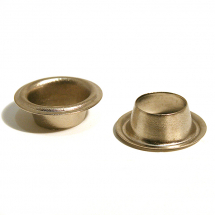 28 SAIL BRASS EYELET NICKEL PLATE