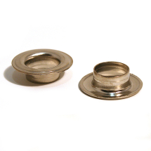 SPY EYELET BRASS NICKEL PLATE