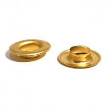 SPK LONG EYELET BRASS CLEAN