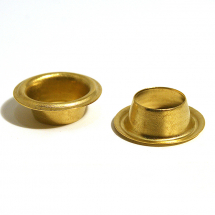 21 LONG SAIL BRASS EYELET CLEAN
