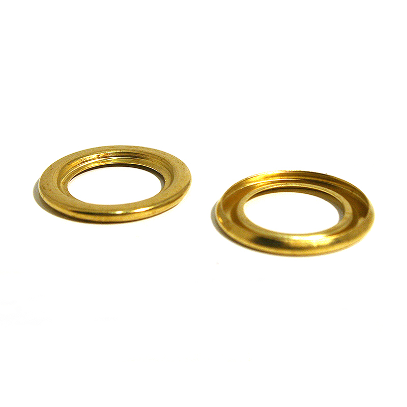 22 T/O RING BRASS CLEAN