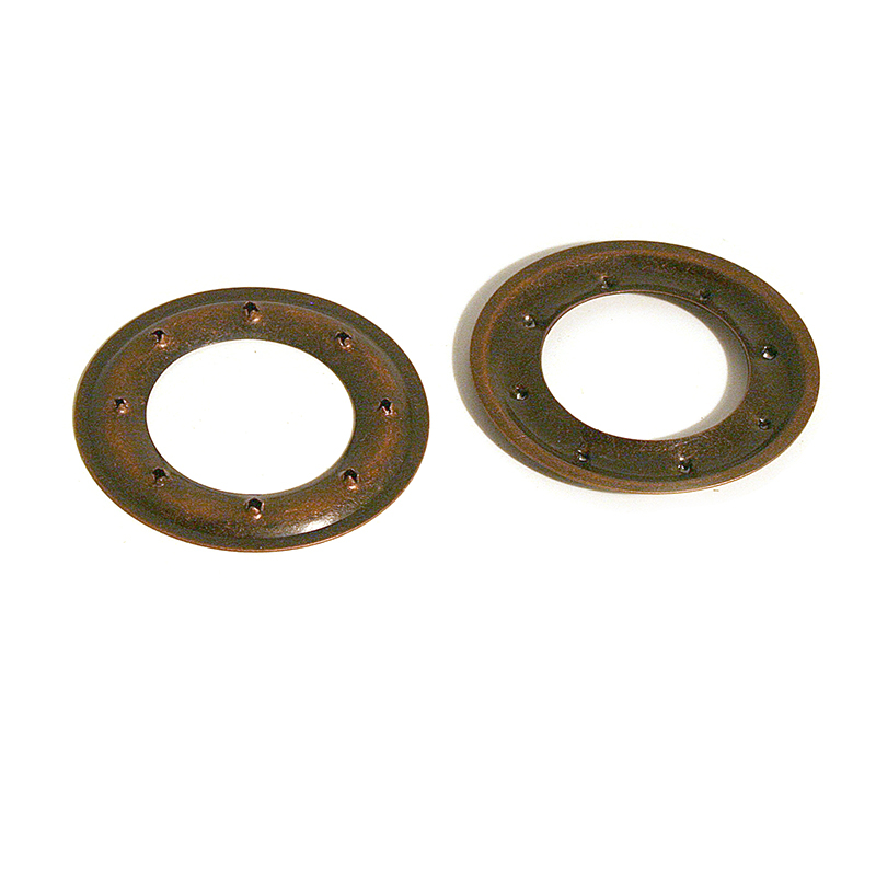 VL100 PIERCED RING BRASS OLD COPPER