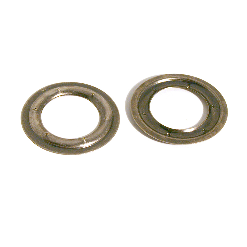 VL100 PIERCED RING BRASS OLD NICKEL