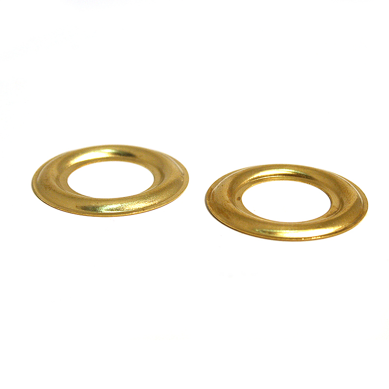 SPK PLAIN RING BRASS CLEAN
