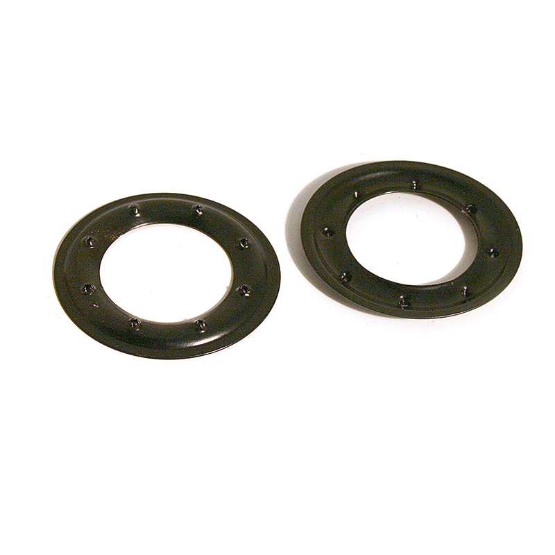 VL100 PIERCED RING STEEL GLOSS BLACK (ALU ZINC)