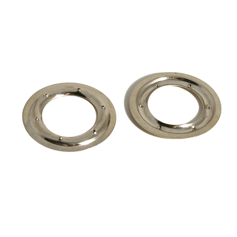 VL130 BRASS PIERCED RING NICKEL PLATE