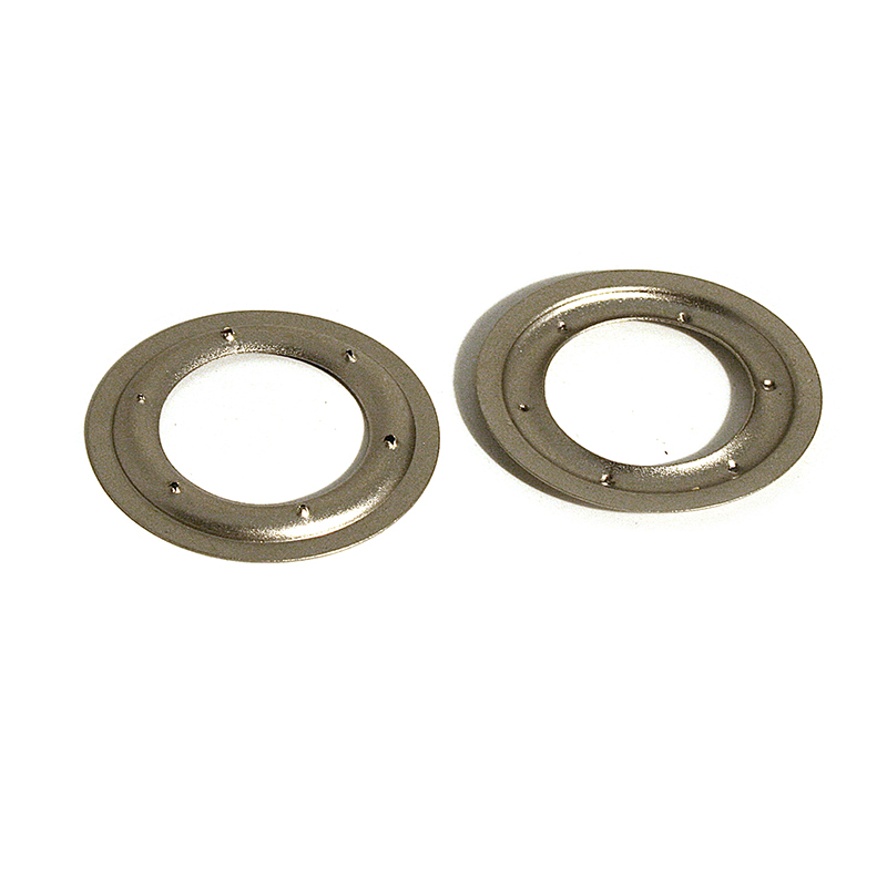 VL130 BRASS PIERCED RING SATIN NICKEL