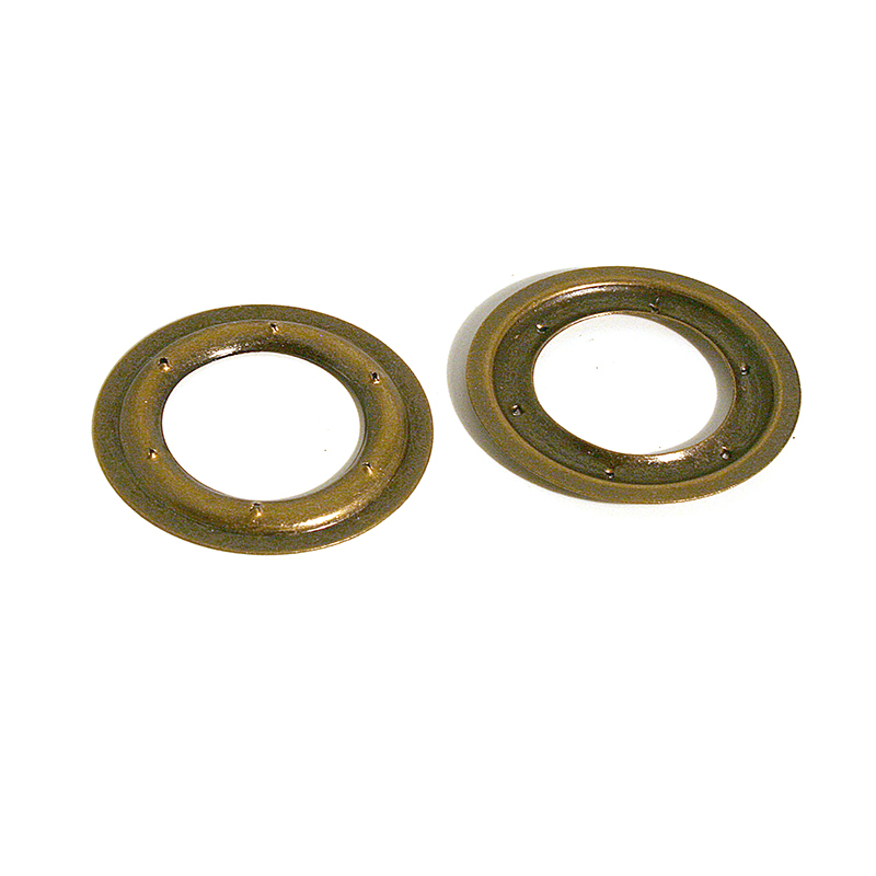 VL130 BRASS PIERCED RING ANTIQUE BRASS