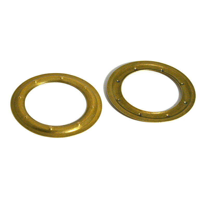 VL150 BRASS PIERCED WASHER ANTIQUE BRONZE