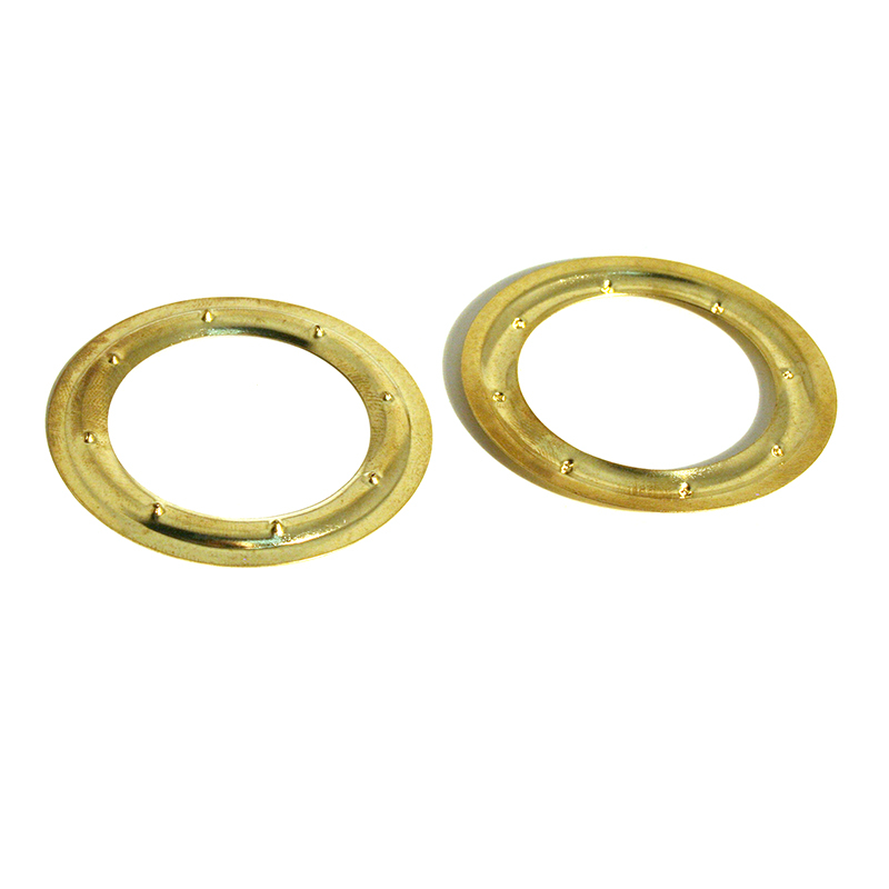 VL150 BRASS PIERCED WASHER CLEAN
