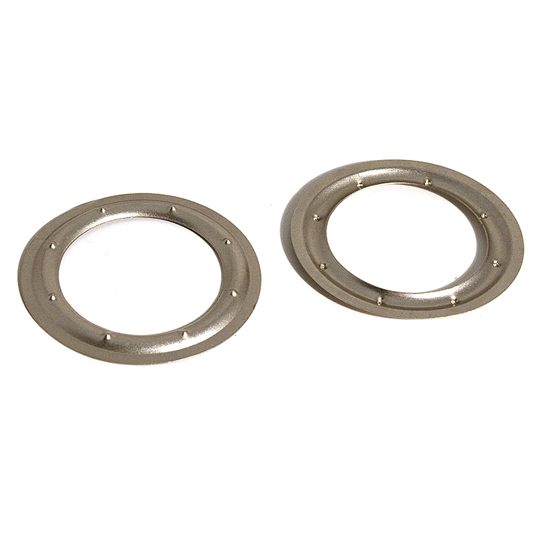 VL150 BRASS PIERCED WASHER SATIN NICKEL