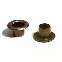 1252R H5 BRASS EYELET ANTIQUE BRASS