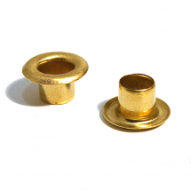 1351 1/2S BRASS EYELET CLEAN