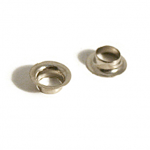 02/80 BRASS EYELET NICKEL PLATE