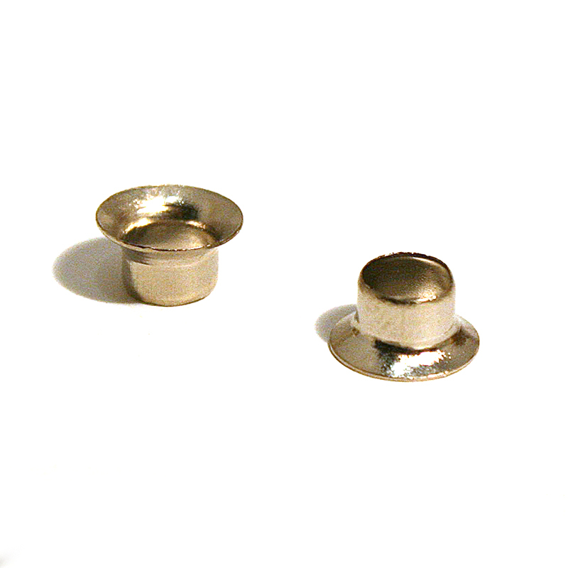 02 (MAN) BRASS EYELET NICKEL PLATE
