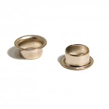 52 BRASS EYELET NICKEL PLATE
