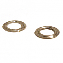 500 BRASS PLAIN RING NICKEL PLATE