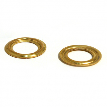 500 BRASS PLAIN RING CLEAN