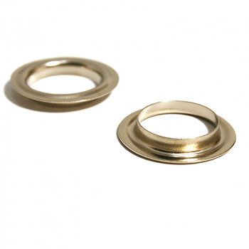 26 BRASS NECK WASHER NICKEL PLATE