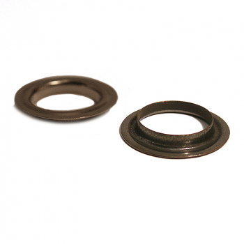 26 BRASS NECK WASHER OXY BLACK