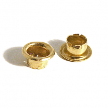 H081 BRASS EYELET CLEAN