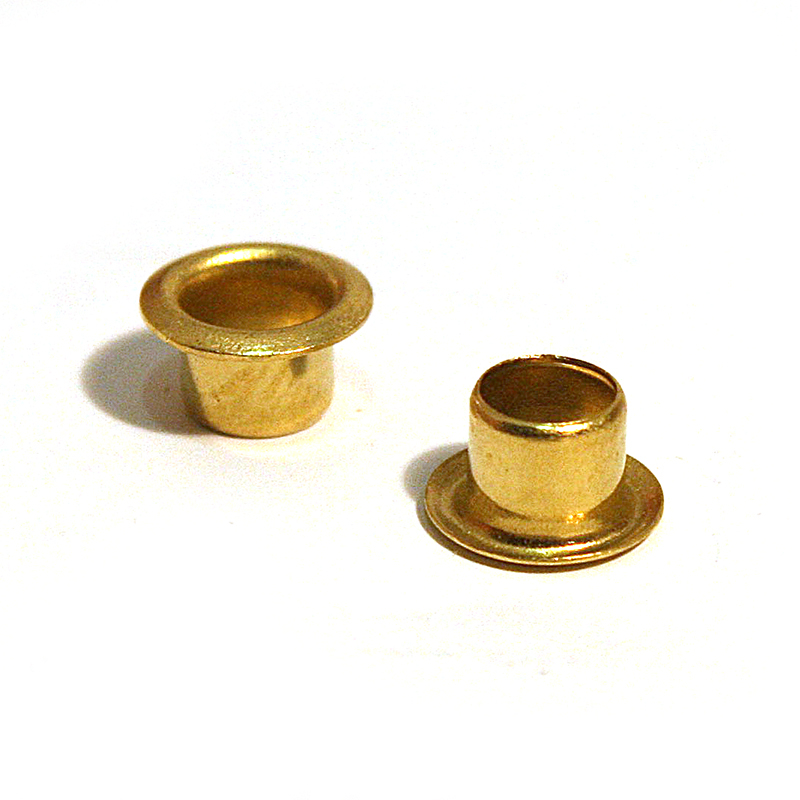 ME3030 BRASS EYELET CLEAN (4.9MM FLANGE)