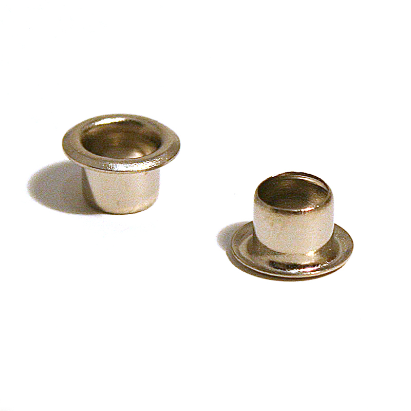 ME3545 BRASS EYELET NICKEL PLATE