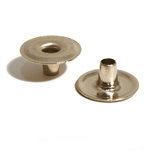405X EYELET BRASS NICKEL PLATE (378326)