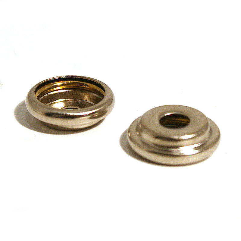 405X SOCKET BRASS 9.65MM NICKEL PLATE (378266)