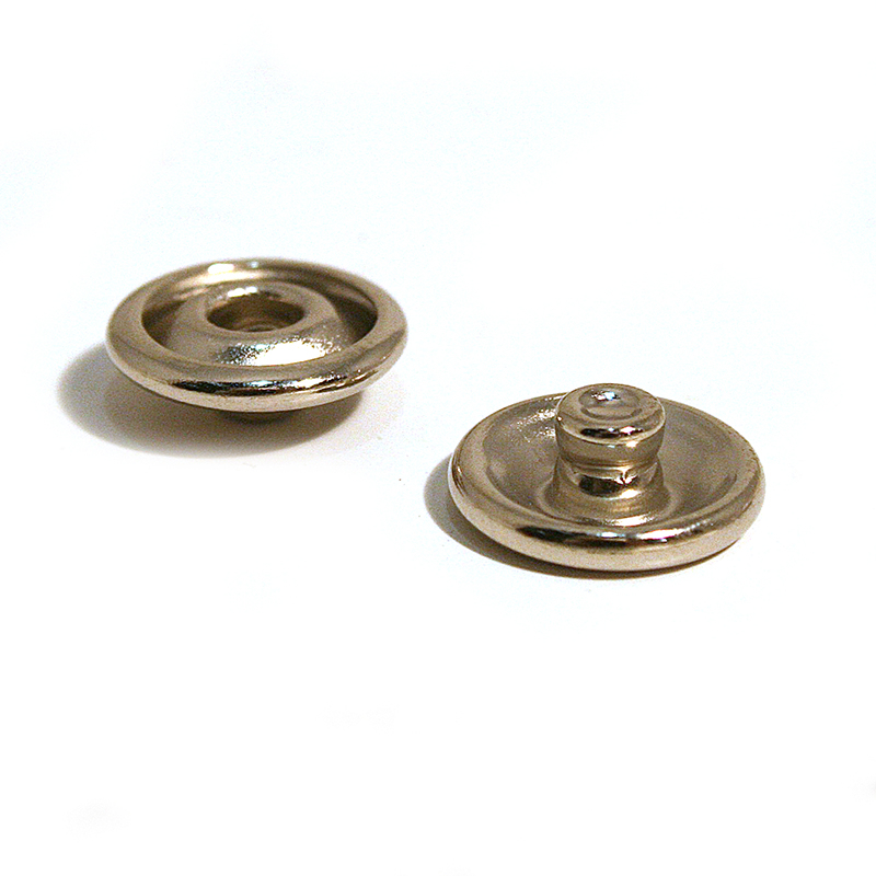 491N 16L ROLLED STUD BRASS NICKEL PLATE