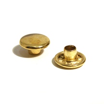 33 STEEL CAP BRASSED