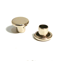 33 STEEL CAP NICKEL PLATE