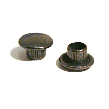35 STEEL CAP (SMALL) OXY BLACK