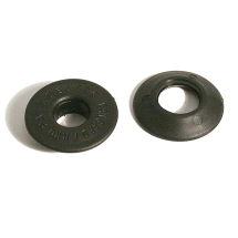 12MM LANGARD EYELET & WASHER BLACK