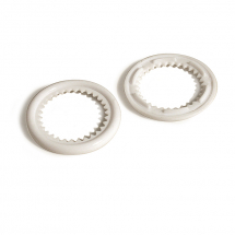 16MM PLASTGROMMET WASHER WHITE