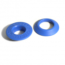 19MM LANGARD EYELET & WASHER BLUE